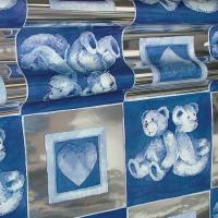 Μεταλλικά Φύλλα - 62 - Αρκουδάκια Μπλε