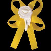 Διακ. Αυτ/τος Φιόγκος Τριαντ/λο Κίτρινο-Λευκό